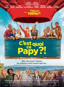 C'EST QUOI CE PAPY ? / Comédie / Français, 1h43